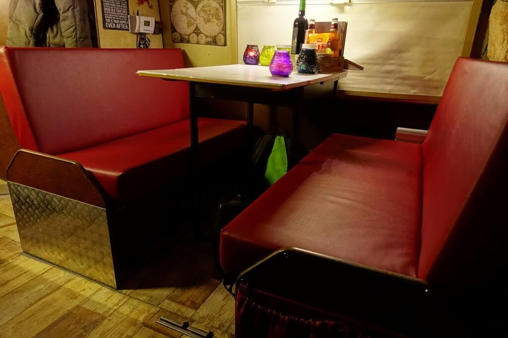 Sitzecke für 4 Personen