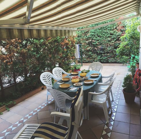 App. for 6,terrace, pool and beach - Sant Antoni de Calonge - Huoneisto