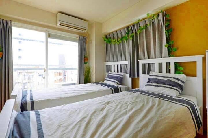 3 mins to Ikebukuro, Cozy room in nightspot area! - Toshima-ku - Daire