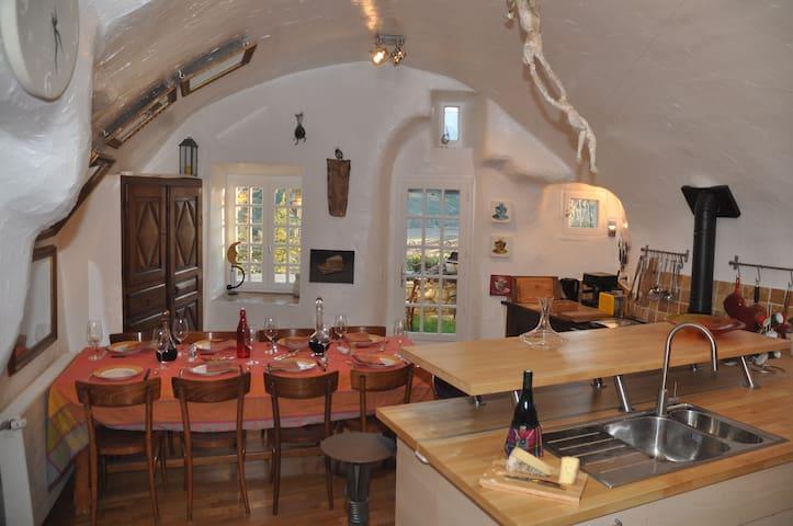 Provence 16th century stone house - Lagrand - Dom