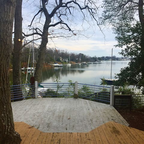 Peaceful Waterfront home 3.6 miles from Downtown - Annapolis - Talo