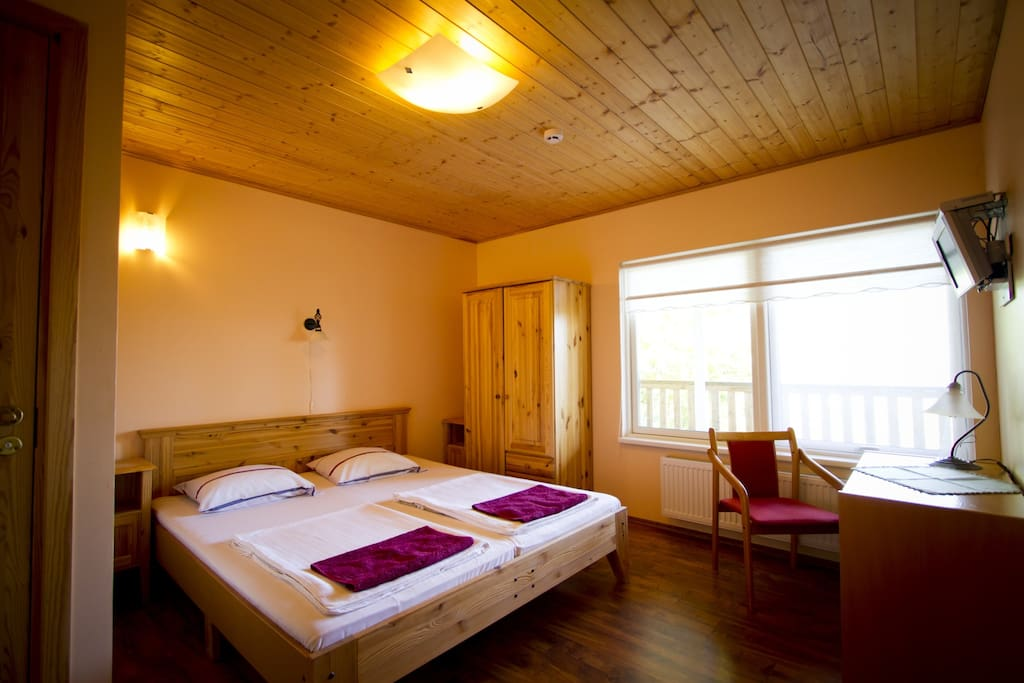 One of our bedrooms with private washroom + shower.