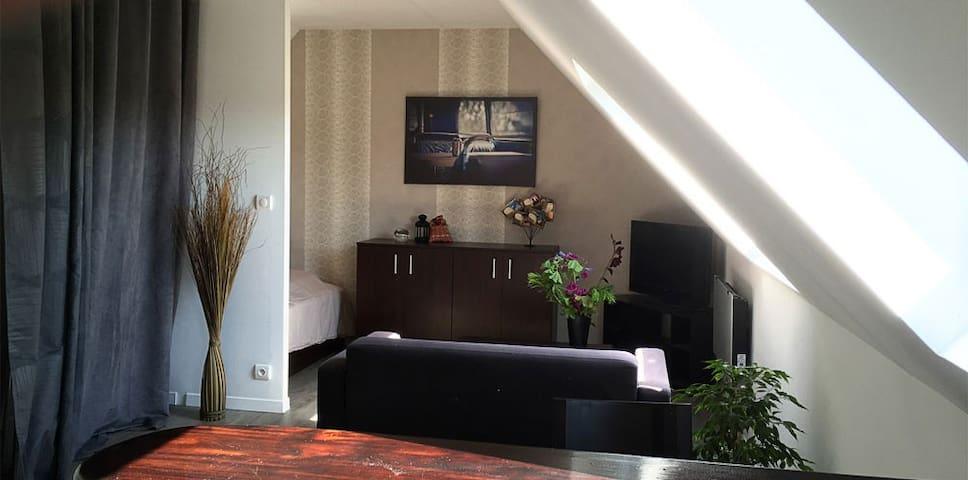 Studio dans corps de ferme - Plonéour-Lanvern - Apartamento