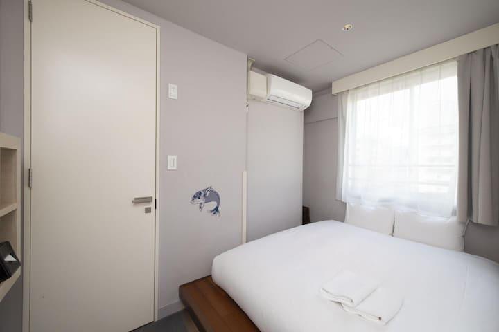 Akihabara,Asakusabashi 10min ! Private double room