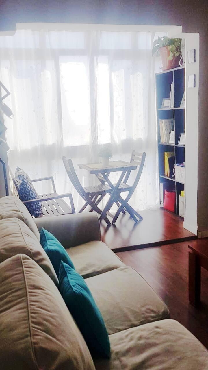 Habitación con WiFi cerca de  Renfe, con TV
