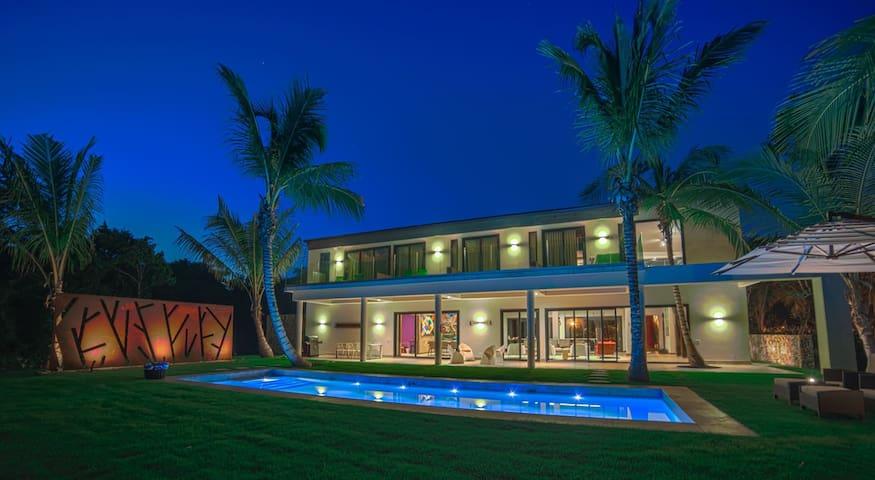 A Unique, Contemporary And Chic villa in Puntacana