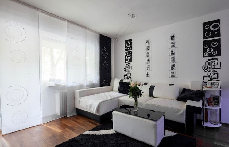 Modern 2 room flat in the city