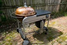 Charcoal grill if you are in the mood to cook outdoors.
