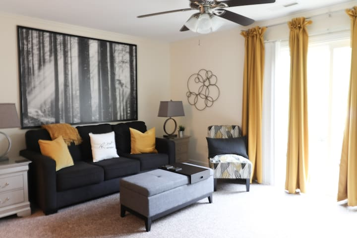 R-town Retreat, 2BR Townhouse close to Downtown