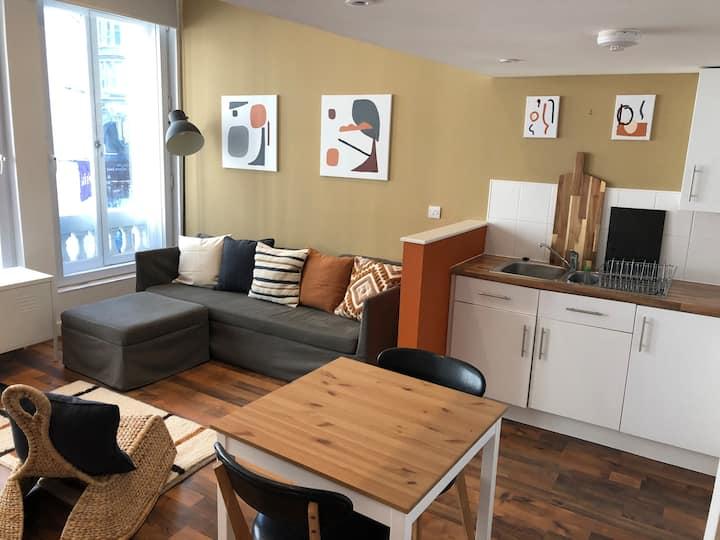 Quirky modern loft