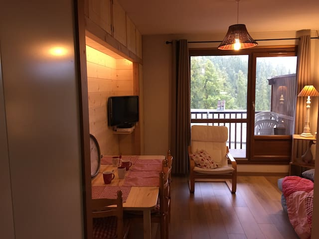 VALBERG _ Plein centre Studio cabine 4P - Guillaumes - Apartmen