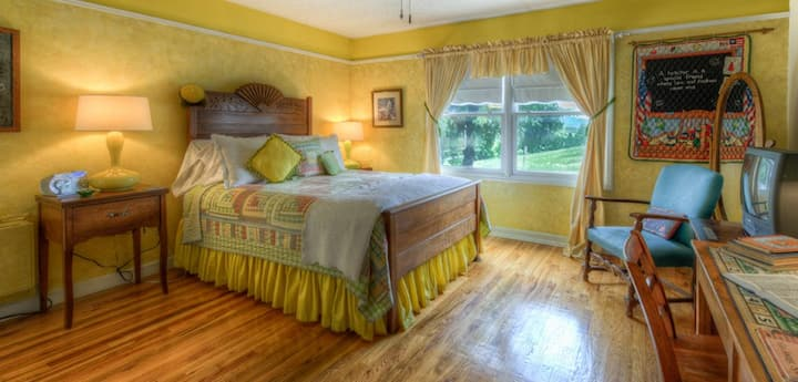 Smoky Mountain Academy B&B Room