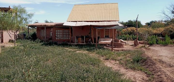 Casa de campo en linda parcela privada