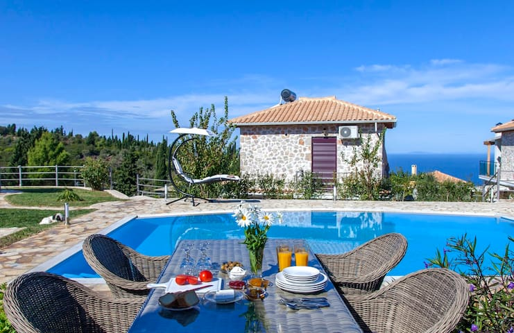 Villa with Private Pool in Tsoukalades