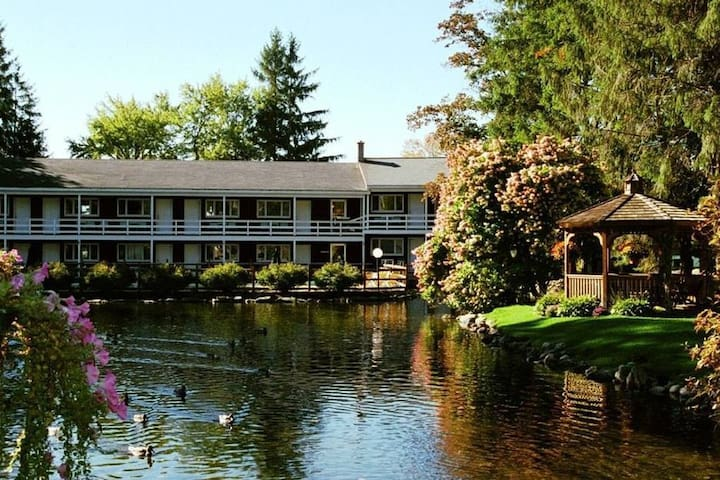 Lincoln  Breakfast including, Free Wi-Fi, Hot Tub, Pool ,Sauna, Game room (q1A)