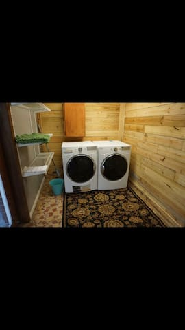 On-site common laundry