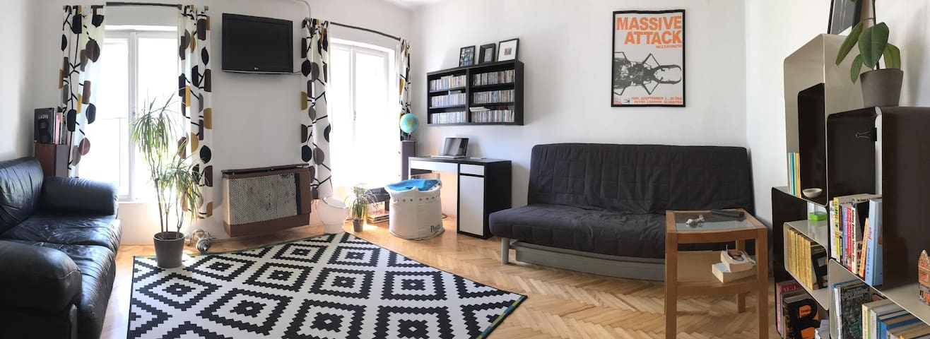 Cozy studio apartment in the lively 9th district - Budapest - Leilighet