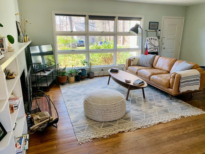 Walk Everywhere; House in the Heart of Chapel Hill