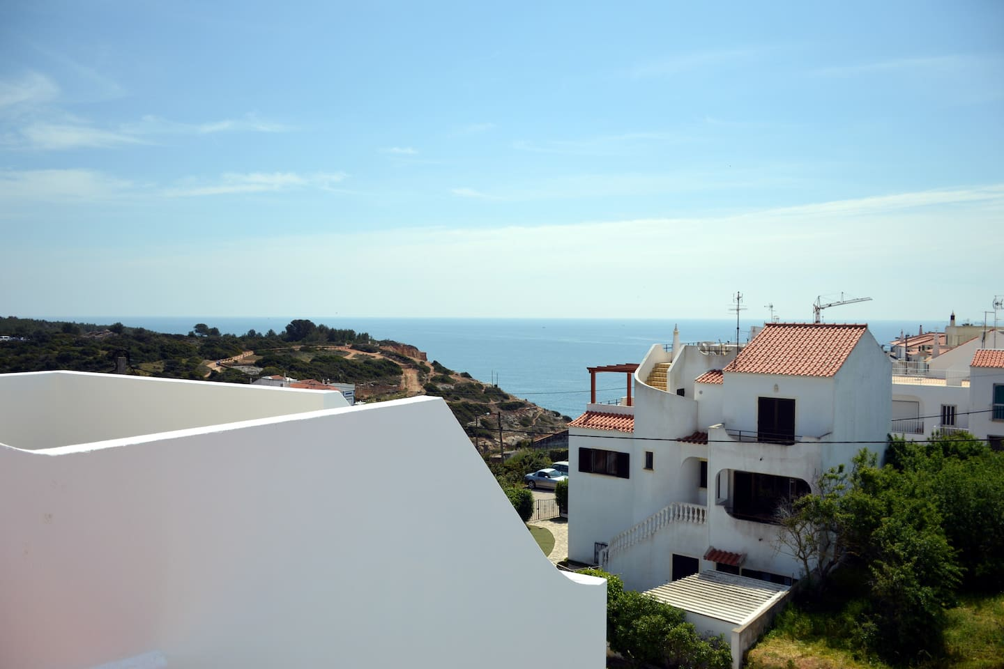 View from the private roof terrace