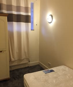 private double bedroom in family house
