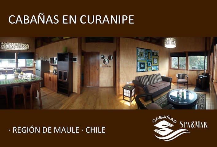 Cabañas Spa & Mar en Curanipe