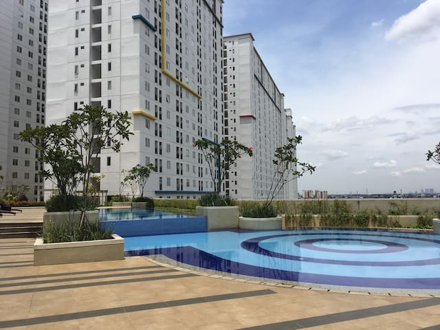 One Studio Apartment On Bassura City Mall Jakarta