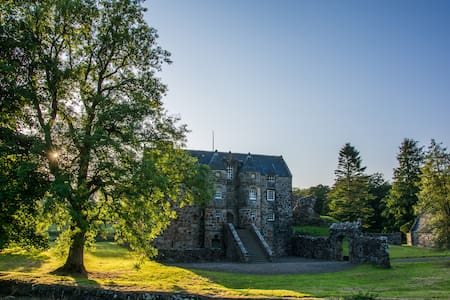 Rowallan 12th Century Castle, Ayrshire