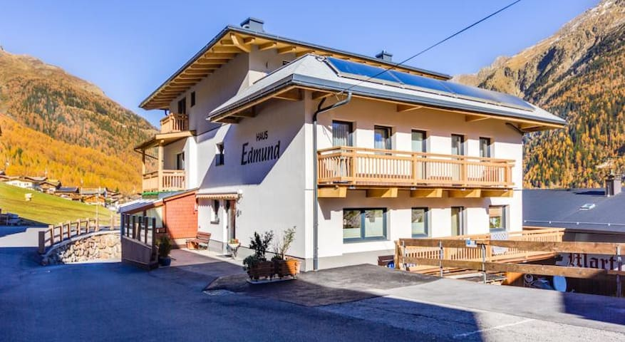 Appartement inmitten der Ötztaler Alpen in Sölden