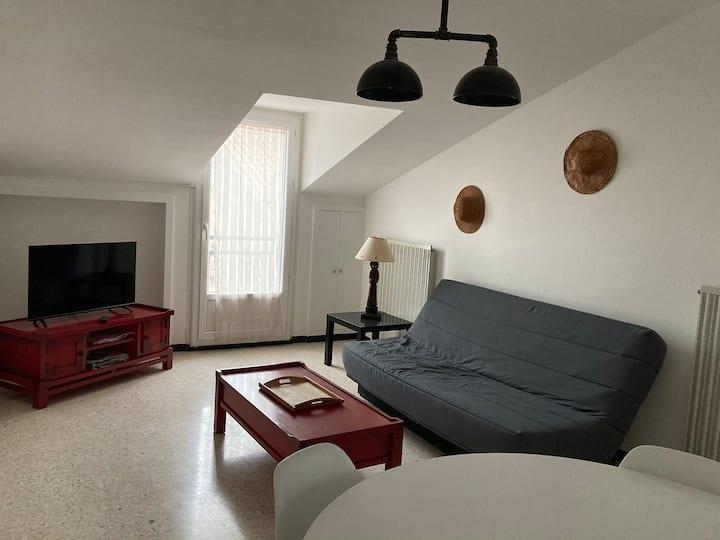 Appartement cœur de ville avec garage privé