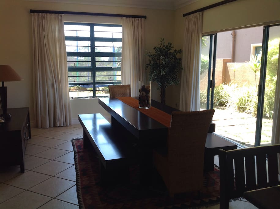 Wonderful family entertainment table in Dining room