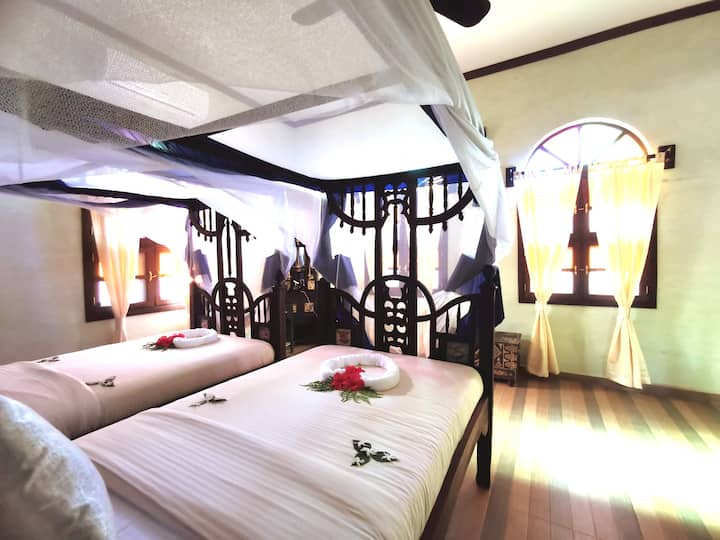Chambre NGURU dans Villa luxe, près Nungwi Beach