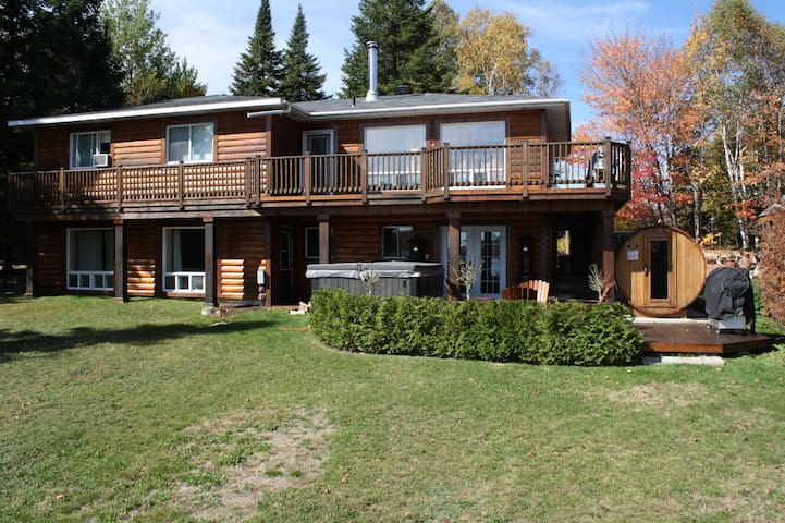Water Front Luxary Country House - Saint-Donat-de-Montcalm - House