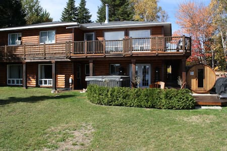 Water Front Luxary Country House - Saint-Donat-de-Montcalm