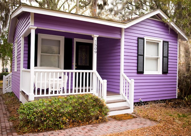 Cozy, Clean Cottage - 10 min walk to Downtown - Beaufort - House