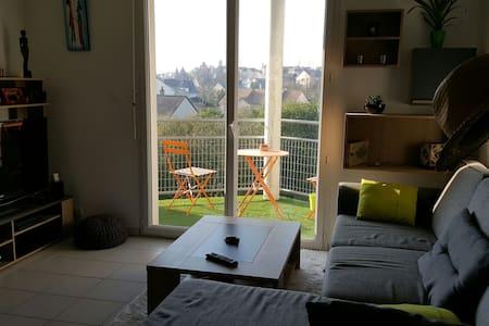 Bel appartement lumineux très calme - Sablé-sur-Sarthe - Apartment