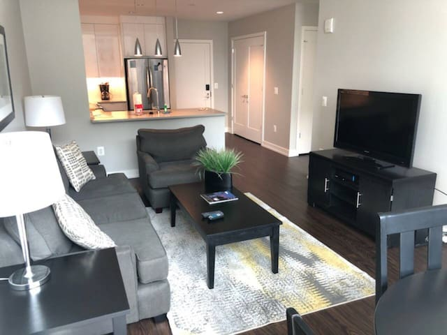 Gorgeous 1 Bedroom on 19th and Market!