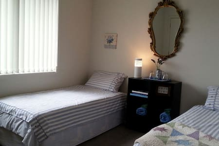 Twin Room in Spacious home - Taupo - Bed & Breakfast