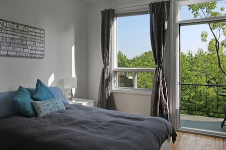 Great Location - Sunny PLATEAU MONT-ROYAL - Montreal - Apartment