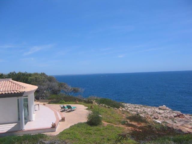 Casa Mar Blau - Villa mit Meerblick - Cala Pi - House