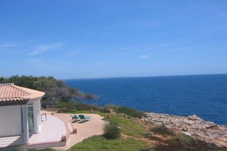 Casa Mar Blau - Villa mit Meerblick - Cala Pi