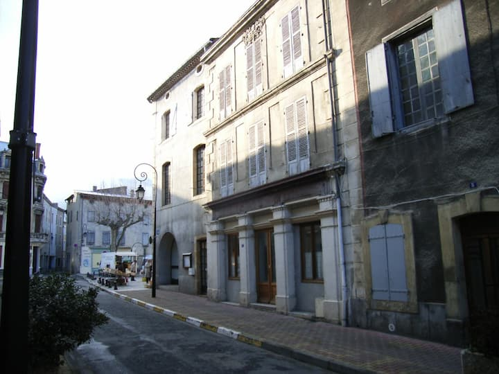 Spacious French merchant house in Quillan