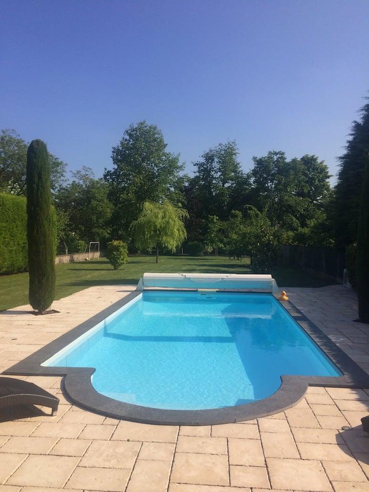 Alsace maison 5 p piscine, europapark et rulantica
