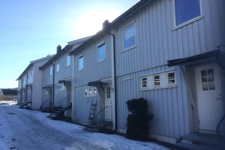 3 roms rekkehusleilighet med hage og 2 terrasser - Drammen - Lägenhet