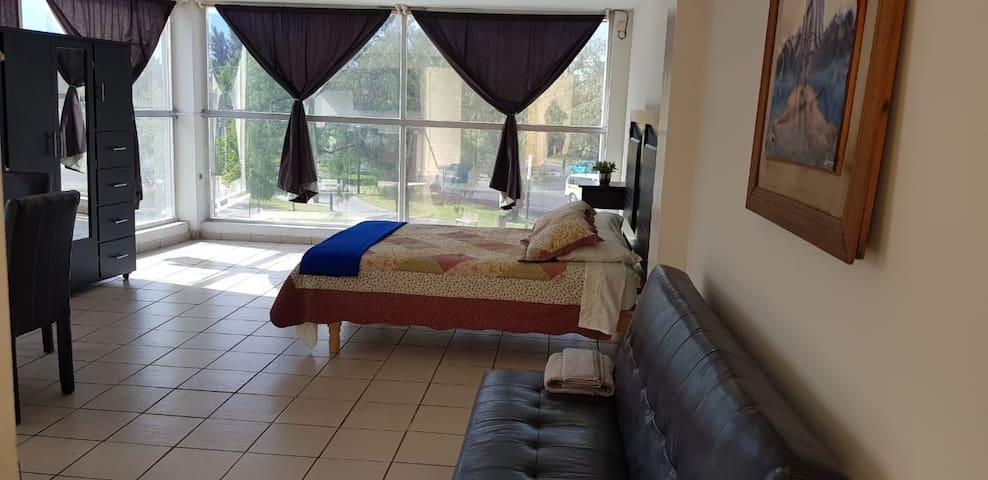 Un lugar bien ubicado al descanso