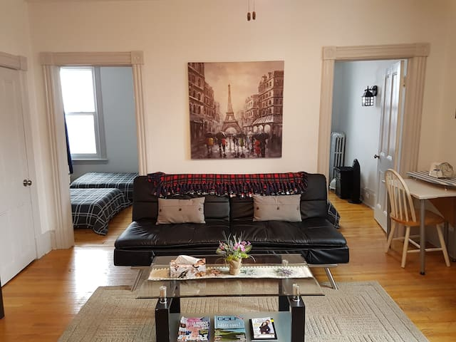 Amazing downtown location. 3 bedroom apartment