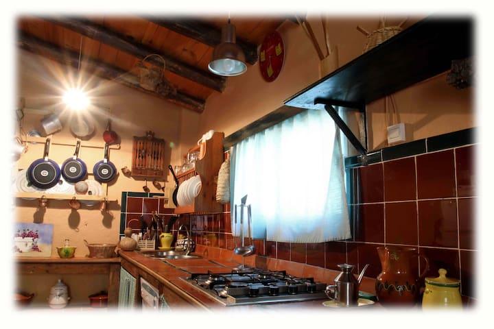 Casa con Piscina - El Castillo de las Guardas - Casa