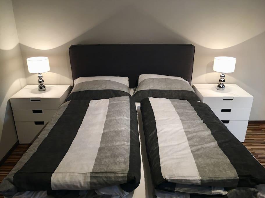 Zentral in vilshofen gem tliche suite h user zur miete for Bett vor heizung