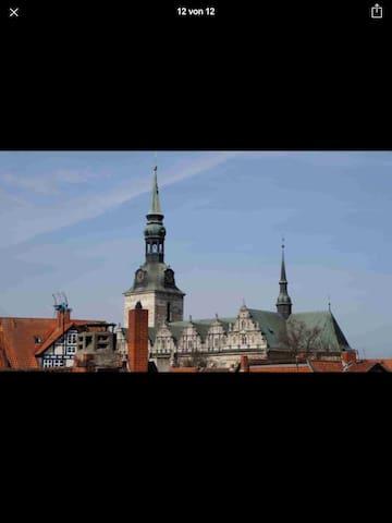 Historisches Stadthaus im Herzen von Wolfenbüttel - Wolfenbüttel - Casa