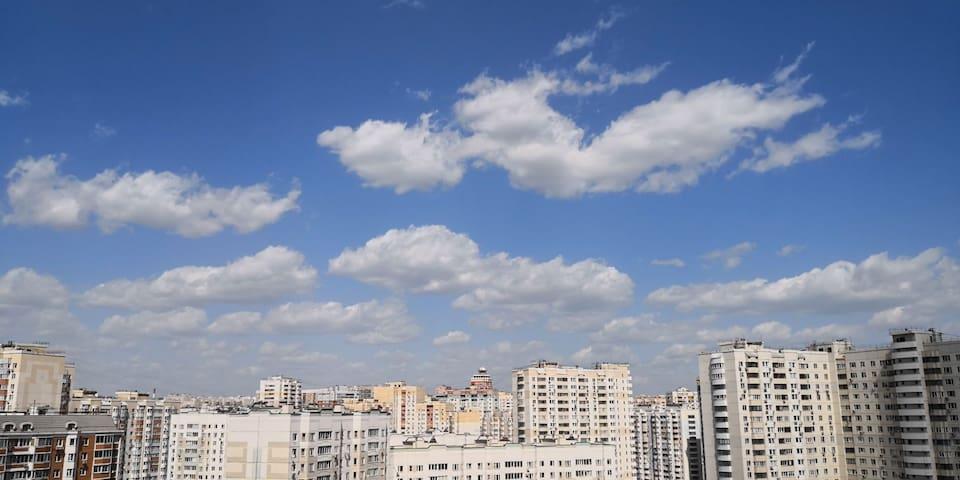 莫斯科北边短租民居