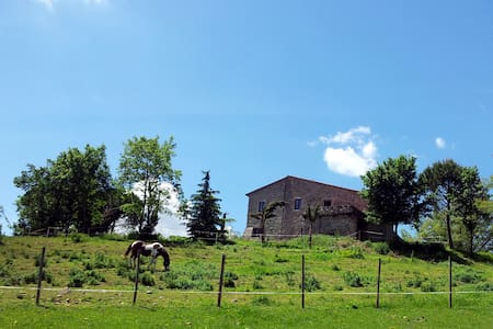 Typical old Umbrian farmhouse
